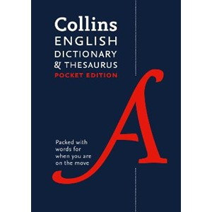 Collins English Pocket Dictionary and Thesaurus