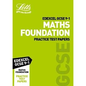 Grade 9-1 GCSE Maths Foundation Edexcel Practice Test Papers