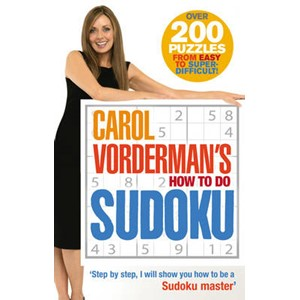 Carol Vorderman's How To Do Sudoku