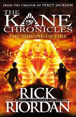 The Throne of Fire (The Kane Chronicles Book 2) - pr_361967