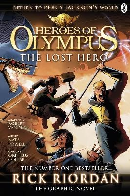 The Lost Hero: The Graphic Novel (Heroes of Olympus Book 1) - pr_123736