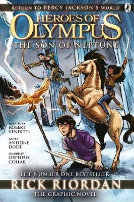 The Son of Neptune: The Graphic Novel (Heroes of Olympus Book 2) - pr_322605