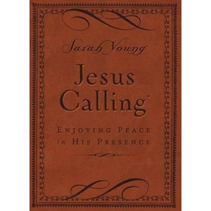 Jesus Calling (Brown Leathersoft)