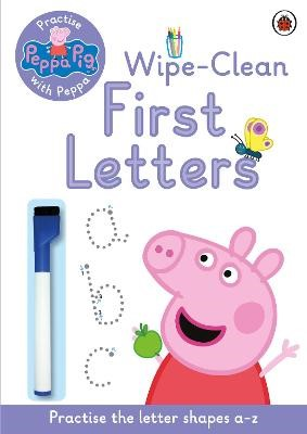 Peppa Pig: Practise with Peppa: Wipe-Clean First Letters - pr_324191