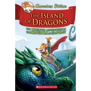 Geronimo Stilton Kingdom of Fantasy #12: The Island of Dragons