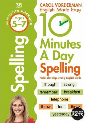 10 Minutes A Day Spelling Ages 5-7 Key Stage 1 - pr_429724
