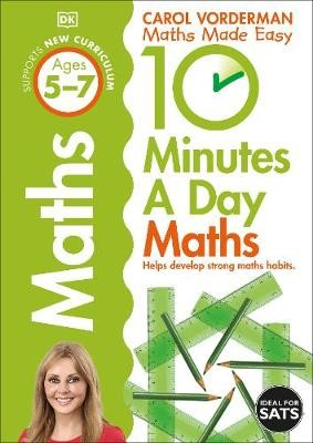10 Minutes a Day Maths Ages 5-7 Key Stage 1 - pr_114795