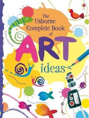 The Usborne Complete Book Of Art Ideas Reduced Spiral Bound - pr_272568