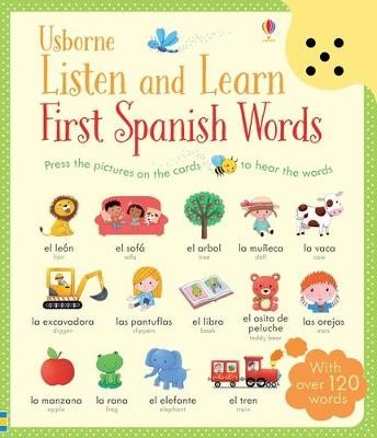 Listen and Learn First Words in Spanish - pr_119114