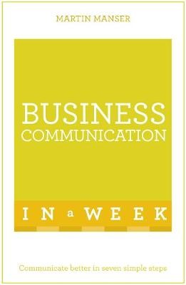 Business Communication In A Week - pr_180764