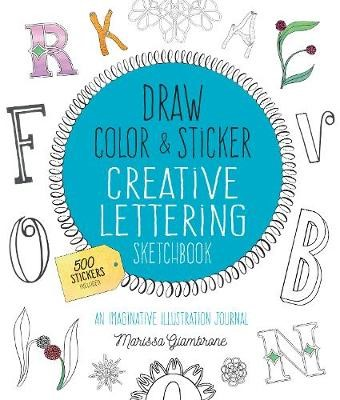 Draw, Color, and Sticker Creative Lettering Sketchbook - pr_285412