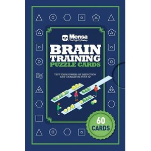 Mensa Brain Training Puzzle Cards