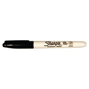 Sharpie Marker Permanent Fine Black