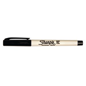 Sharpie Marker Permanent Ultra Fine Black