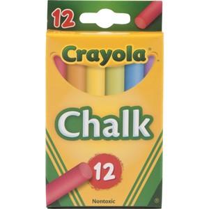 Crayola Coloured Chalk 12 Pack