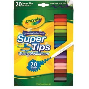 Crayola Felt Pens Super Washable 20 Pack