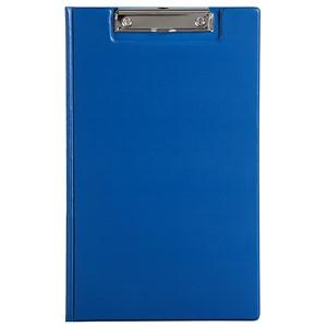 Marbig Clipfolder PVC Foolscap Blue