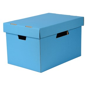Esselte Archive Storage Box & Lid Blue