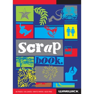 Warwick Scrapbook Super White 56 Pages