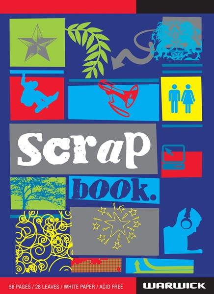 Warwick Scrapbook Super White 56 Pages - pr_1702456