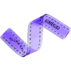 Celco Superflex Tinted Ruler 30cm