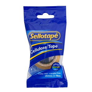 Sellotape Tape Cellulose 15mmx10m