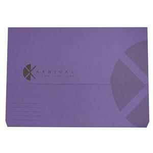 Eastlight Karnival Document Wallet Foolscap Violet