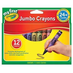 Crayola Crayons Jumbo 12 Pack