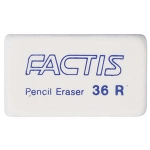 Factis Erasers 36R Soft White