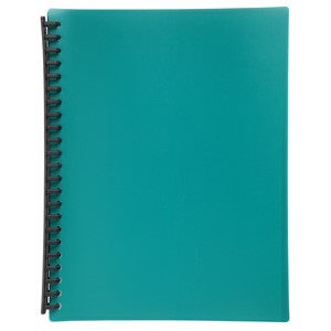 Marbig Display Book Refillable A4 20 Pockets Green