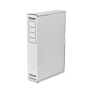 Esselte Storage Box Foolscap White