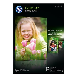 HP Photo Paper Everyday A4 Q2510A 200gsm Pack 100