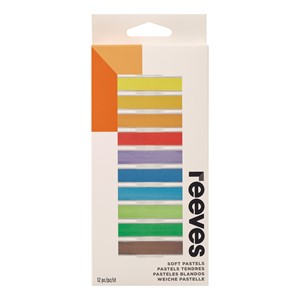 Reeves Soft Pastels Set Assorted Pack 12