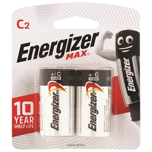 Energizer Battery Max C Pack 2
