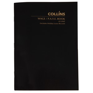 Collins Wage Book A5 Limp 64 Pages