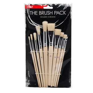 Jasart Brush The School Hog Pack 10