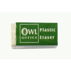 Owl Plastic Eraser