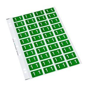 Codafile Labels 1 25mm Sheet 5