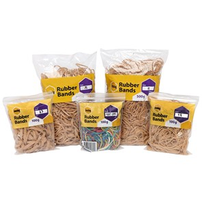 Marbig Rubber Bands Size 64 100gm