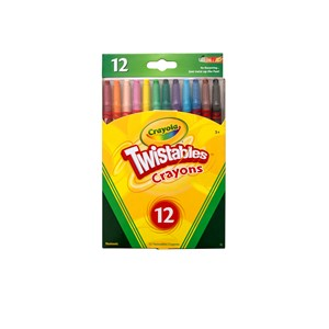 Crayola Crayons Twistable 12 Pack