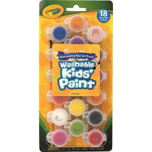Crayola Poster Paint Set 18 Pack