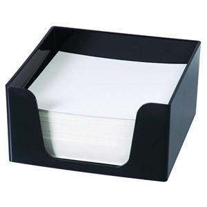 Esselte Memo Cube Holder 500 Sheets Black