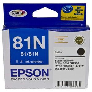 Epson Ink Cartridge T111192 81N Black