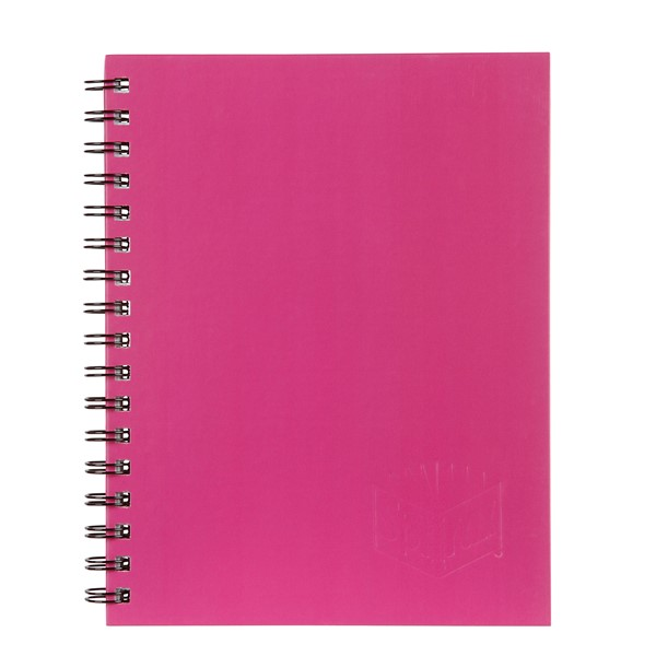 Spirax 512 Hardcover Notebook A4 200 Pages Pink - pr_1702073