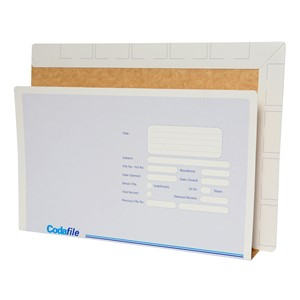 Codafile Vertical 35mm Lateral Files Pack 100