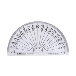 Celco Protractor 180 Degree 10cm