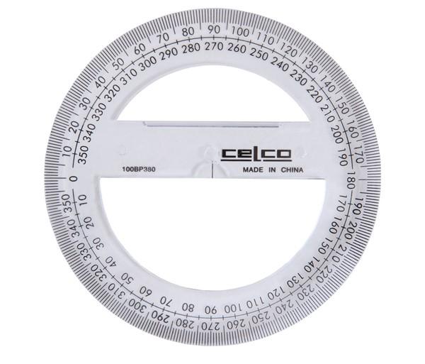 Celco Protractor 360 Degree 10cm - pr_1702658