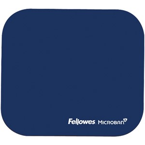 Fellowes Mouse Pad with Microban Navy