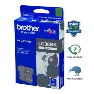 Brother Ink Cartridge LC38BK Black