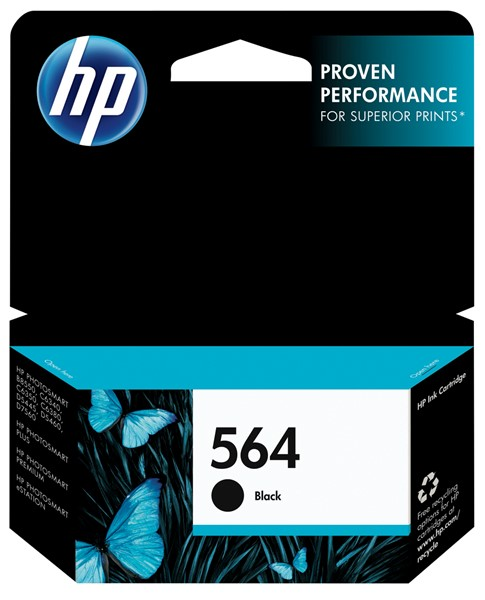 HP Ink Cartridge CB316WA 564 Black - pr_427460